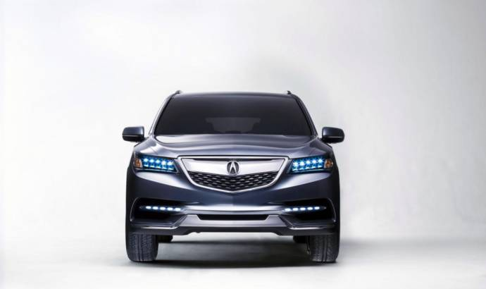 2013 Acura MDX Concept revealed in Detroit