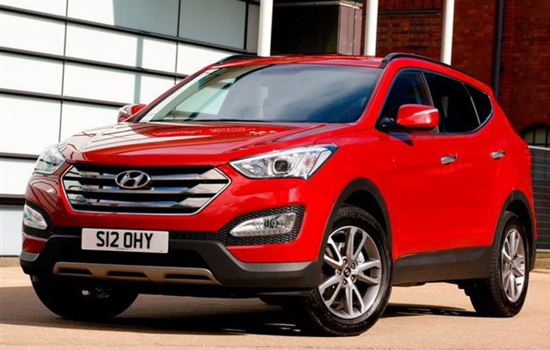 2013 Hyundai Santa Fe named safest in its class by EuroNCAP