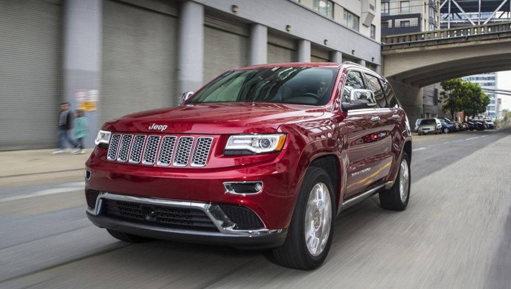 2013 Jeep Grand Cherokee facelift, unveiled at NAIAS