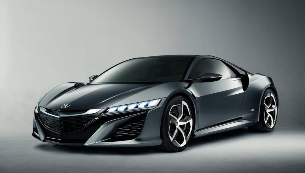 Acura NSX Concept II unveiled in Detroit