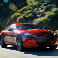 Aston Martin Rapide S will be revealed in Geneva