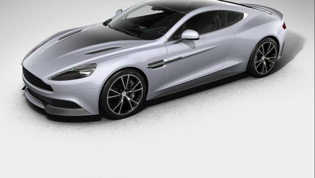 Aston Martin reveals Vanquish Centenary Edition