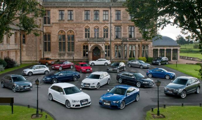 Audi announces another record sales year in 2012