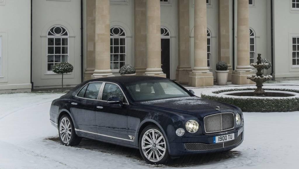 Bentley Mulssane updated for Geneva Motor Show