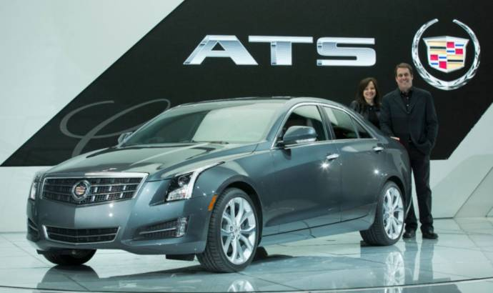 Cadillac ATS named 2013 North American Car of the Year