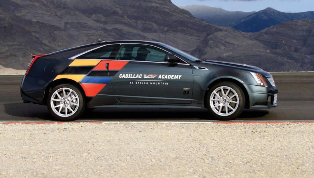 Cadillac V-Series Academy - high-performance driving near Las Vegas