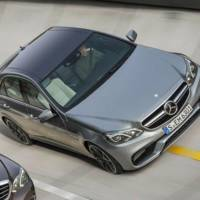 First official photo of the 2014 Mercedes E63 AMG facelift