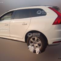 First unofficial photos of the 2013 Volvo XC60 facelift