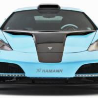 Hamann memoR blue McLaren MP4-12C