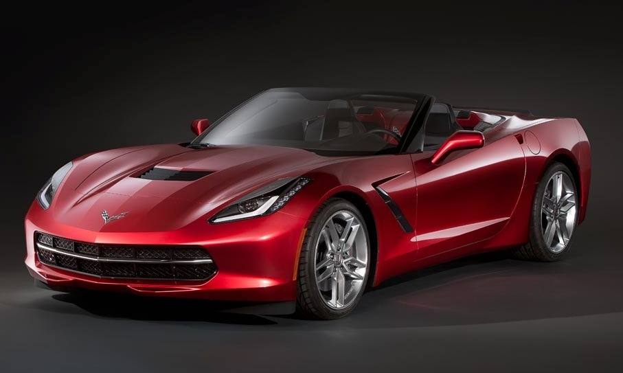Is this the 2014 Chevrolet Corvette Stingray Convertible?