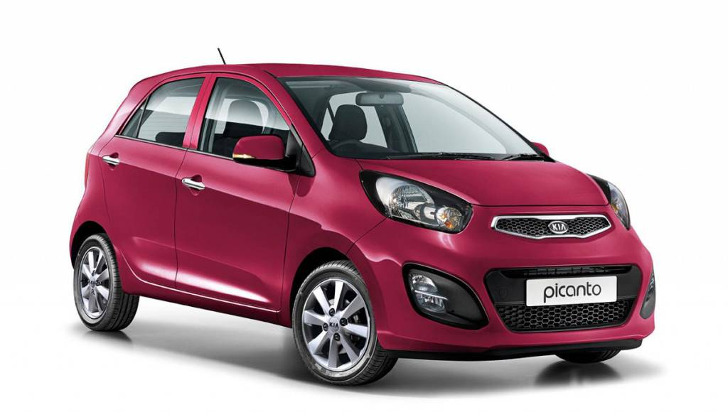 Kia Picanto White introduced at 11.745 pounds in the UK