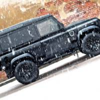 Land Rover Defender Wide Body Winter Edition by Kahn Design