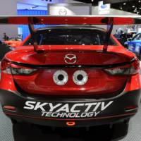 Mazda6 Skyactiv-D racecar revealed at NAIAS 2013