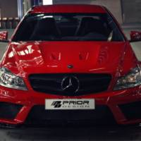 Mercedes-Benz C-Class Coupe prepared by Prior Design