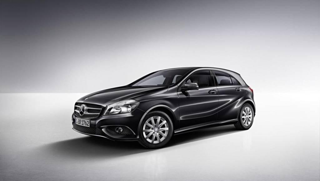 Mercedes will introduce the A-Class BlueEfficicency