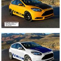 New Shelby Ford Focus ST flexes its muscles in Detroit
