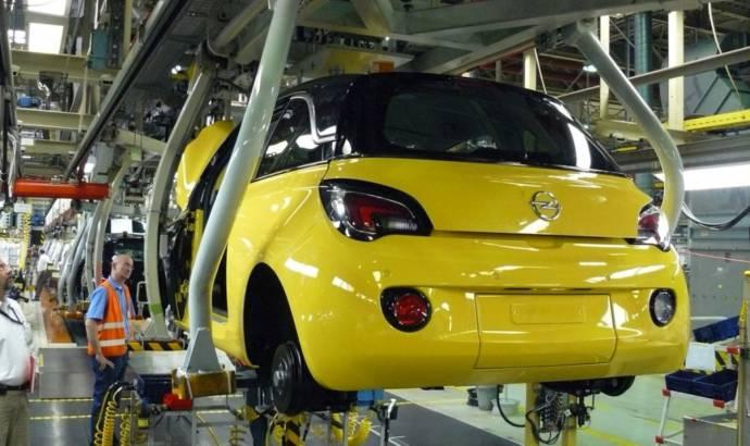2013 Opel Adam starts production in Eisenach, Germany