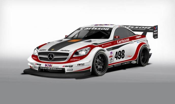 This is the Carlsson SLK 340 racer