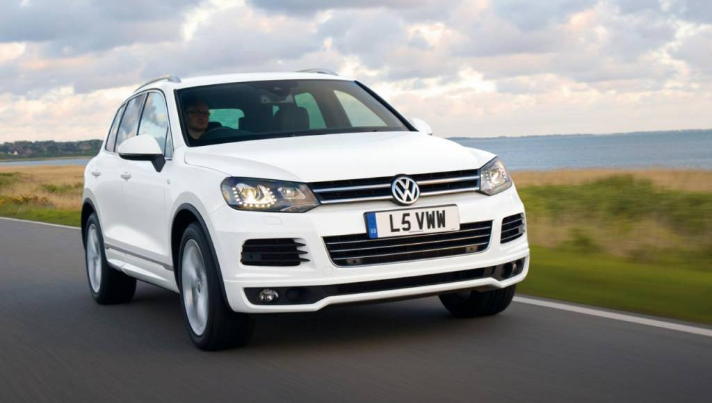 Volkswagen Touareg R-Line priced at 44.205 pounds in UK