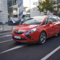 2013 Opel Zafira Tourer Bi-Turbo introduced at 35.405 euro