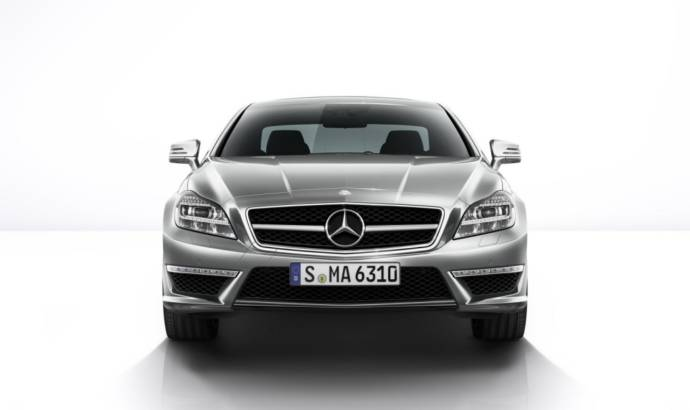 2014 Mercedes CLS63 AMG Coupe and Shooting Brake - details and photos
