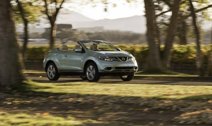 2014 Nissan Murano CrossCabriolet costs 41.995 dollars in the US