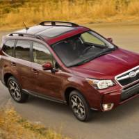 2014  Subaru Forester starts from 21.995 dollars in the US