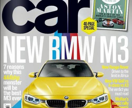 First image of the 2014 BMW M3