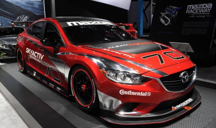 Mazda6 Skyactiv-D racecar revealed at NAIAS 2013