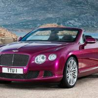 This is Bentley Continental GT Speed Convertible - the world's fastest four-seater cabrio