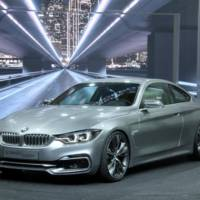 This is the 2013 BMW 4-Series Coupe Concept