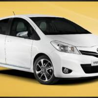 2013 Toyota Yaris Trend line-up, introduced at 14.570 pounds in UK