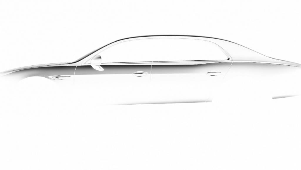 2014 Bentley Continental Flying Spur teased (+Video)