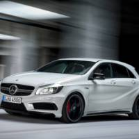 First official photos of the new Mercedes A45 AMG without camouflage