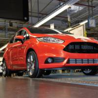 Ford Fiesta ST enters production in Germany