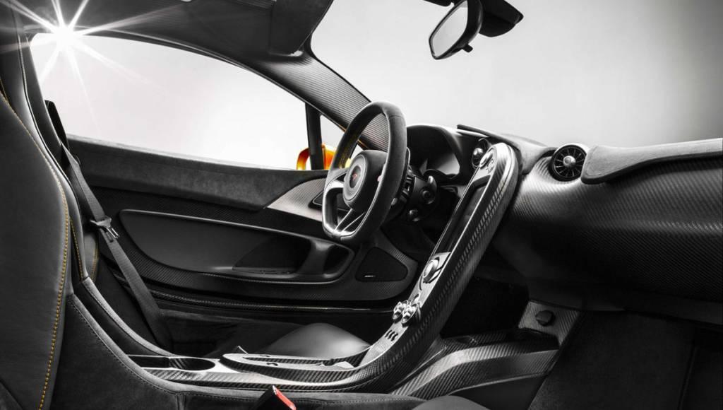2013 McLaren P1 - first interior shots