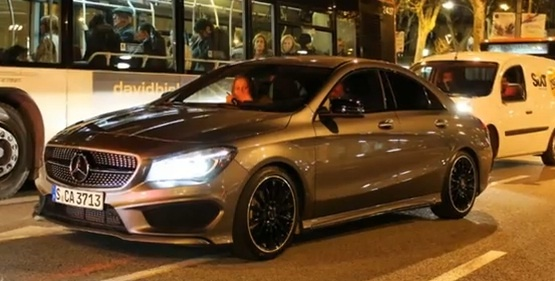 Mercedes-Benz CLA 45AMG will come to New York