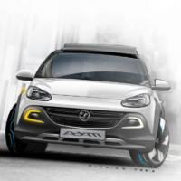 Opel Adam Rocks Concept set to debut in Geneva