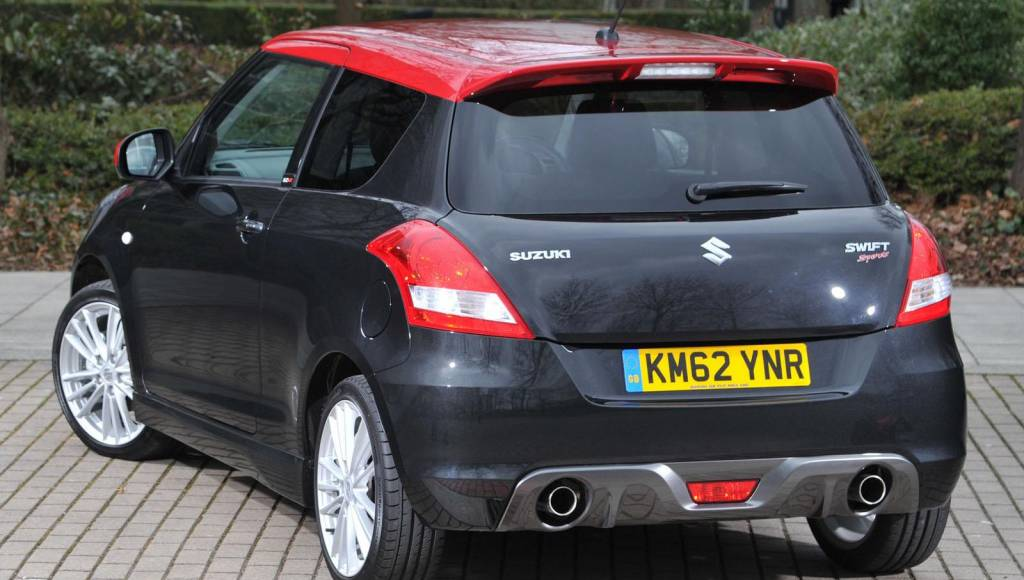 Suzuki Swift SZ-R launched in UK at 14.249 pounds