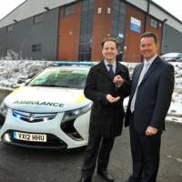 Vauxhall Ampera to be used as an ambulance in UK