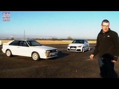 Video: Audi Ur-Quattro vs. Audi A1 Quattro
