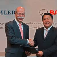 Daimler officially takes 12 percent stake in Chinese BAIC
