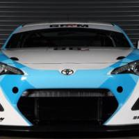 This is the Toyota GT86 GT4 racer