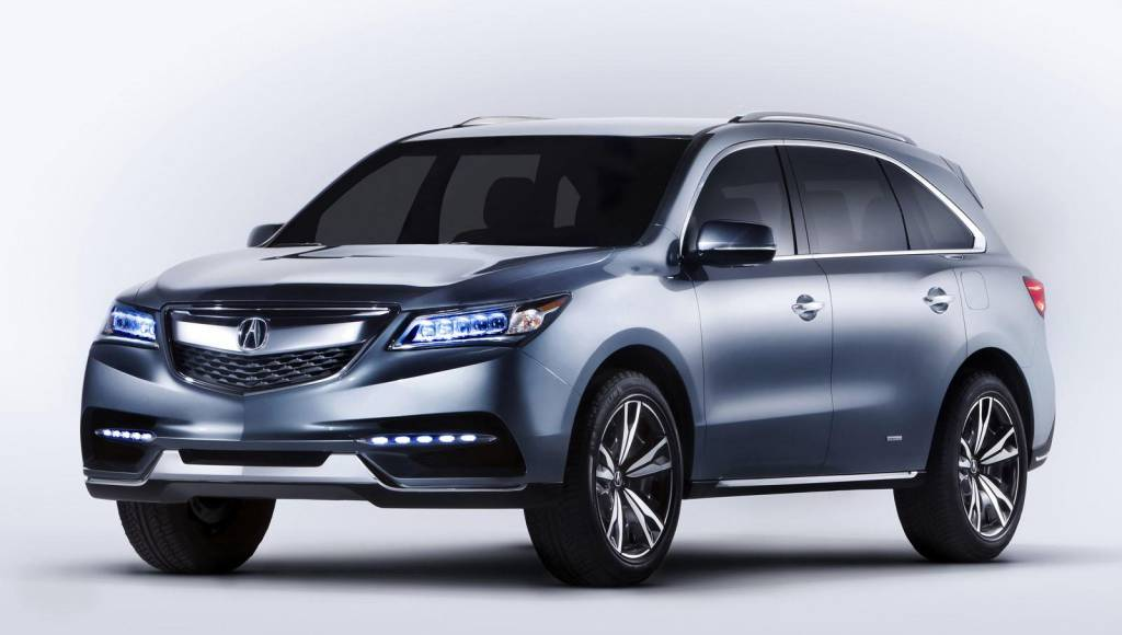 2014 Acura MDX production version to debut in New York Motor Show