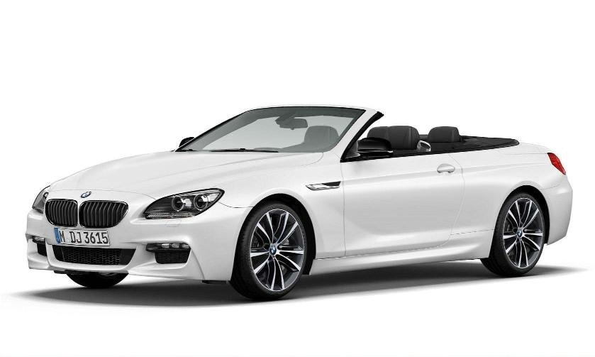 2014 BMW 6 Series Convertible Frozen Brilliant White Edition revealed
