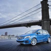 2014 Mercedes B Class Electric Drive makes american debut