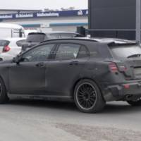 2014 Mercedes-Benz GLA 45 AMG spied near Nurburgring