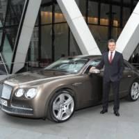 Bentley registers record sales in 2012