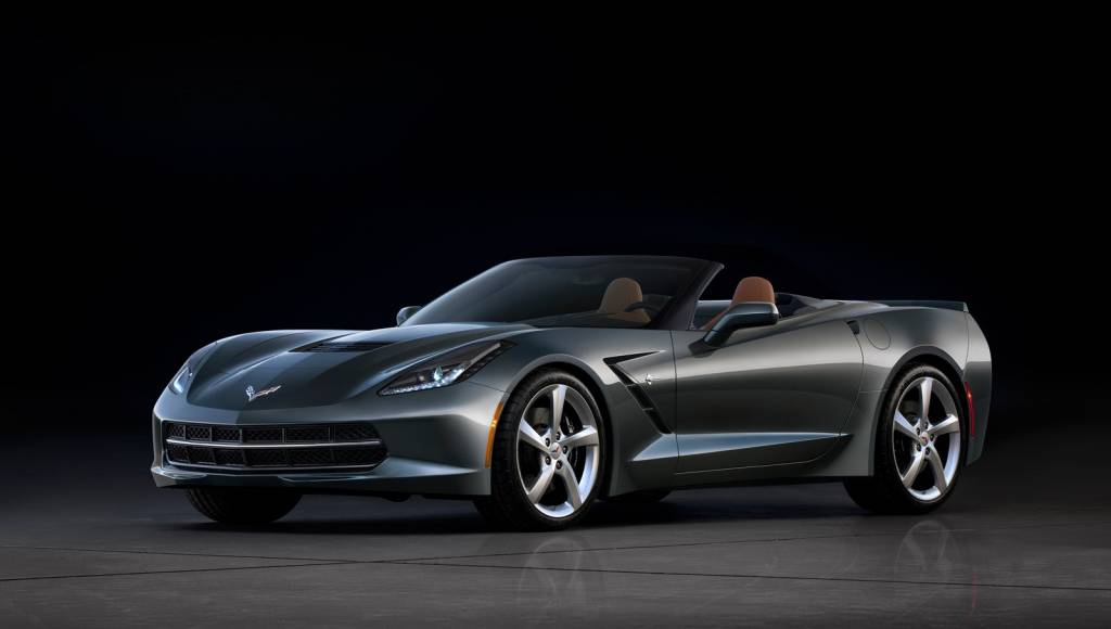 First official photos of the upcoming Corvette Stingray Convertible