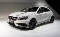 Mercedes-Benz A45 AMG was revealed in Geneva